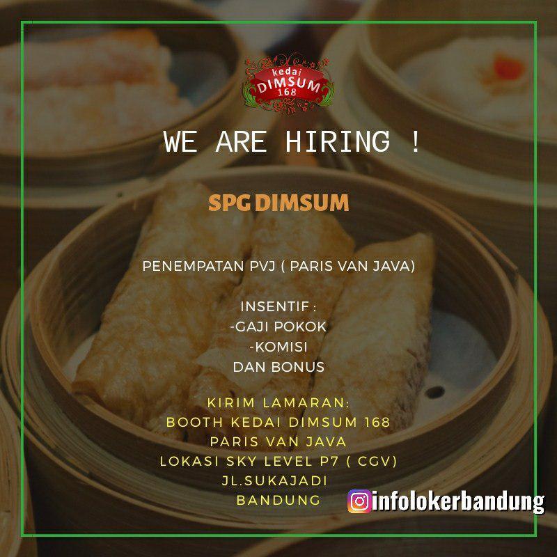 Lowongan Kerja Kedai Dimsum 168 Bandung Agustus 2019