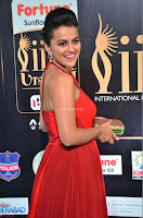 Sraddha in Sleeveless Red Gown at IIFA Utsavam Awards 2017  Day 2  HD Exclusive 11.JPG