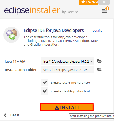 How to download eclipse IDE for java developers(Windows 10)