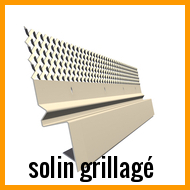 solin grillagé