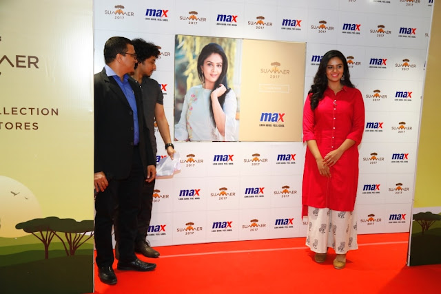 Popular Actress Sreemukhi launches the Summer Lookbook and Collection in Hyderabad