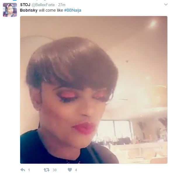 Bobrisky trends on Twitter as people call on popular gay to join Big Brother Naija