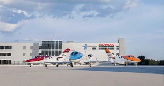 HondaJet aircraft