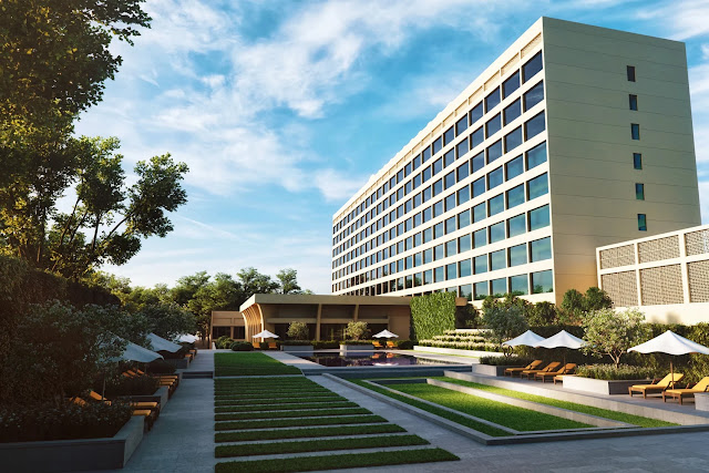 The Oberoi, New Delhi views of UNESCO World Heritage Sites and views of wooded golf courses