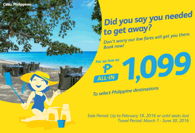 Cebu Pacific Cheap Flights Philippine Destinations 2016