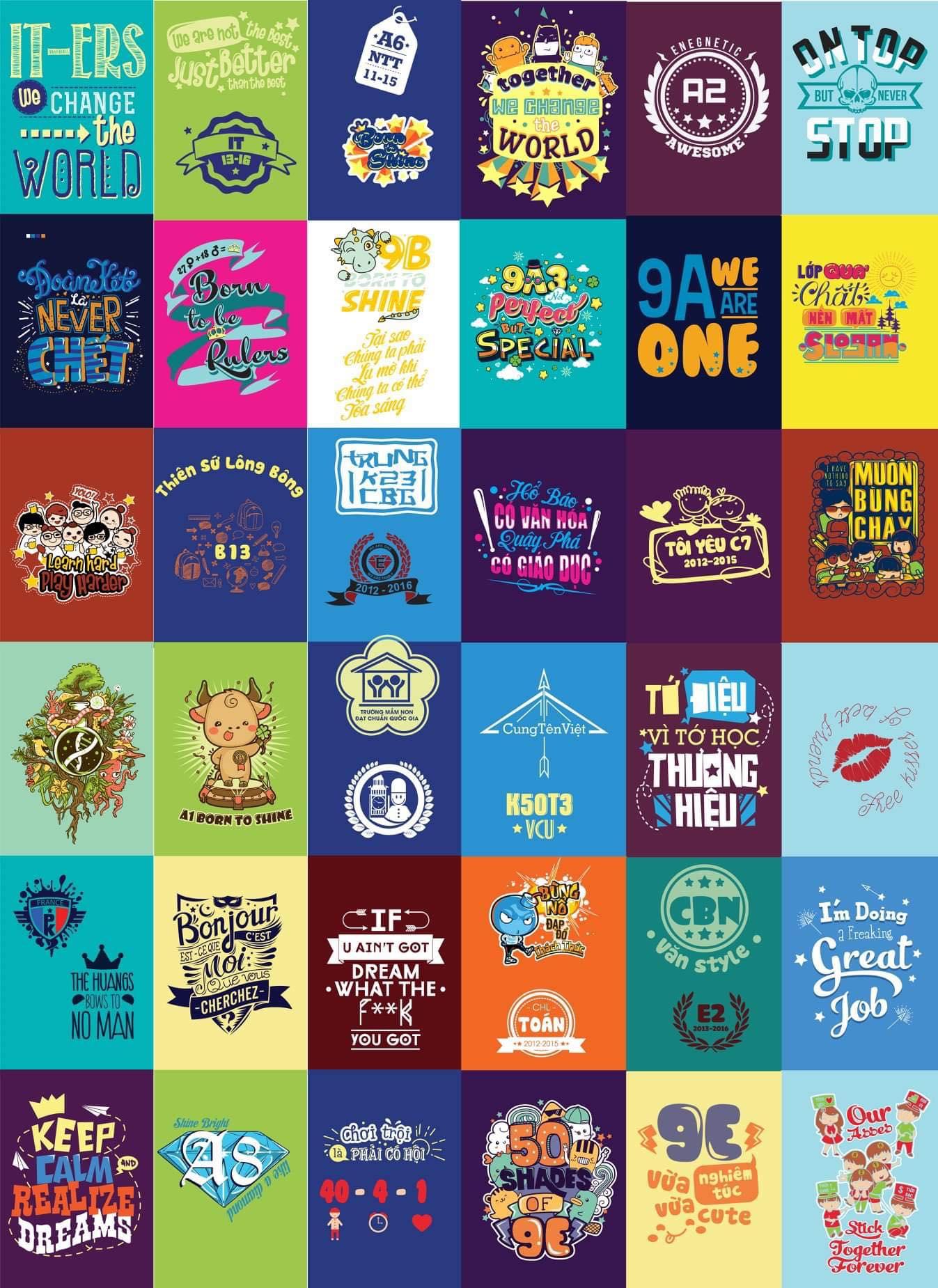 Tổng hợp logo in áo đẹp - Hình 9