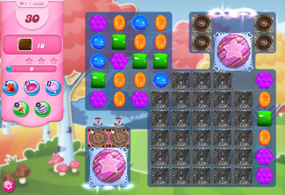Candy Crush Saga level 4336