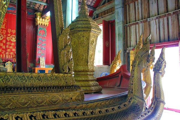 Royal cremation chariot - Luang Prabang