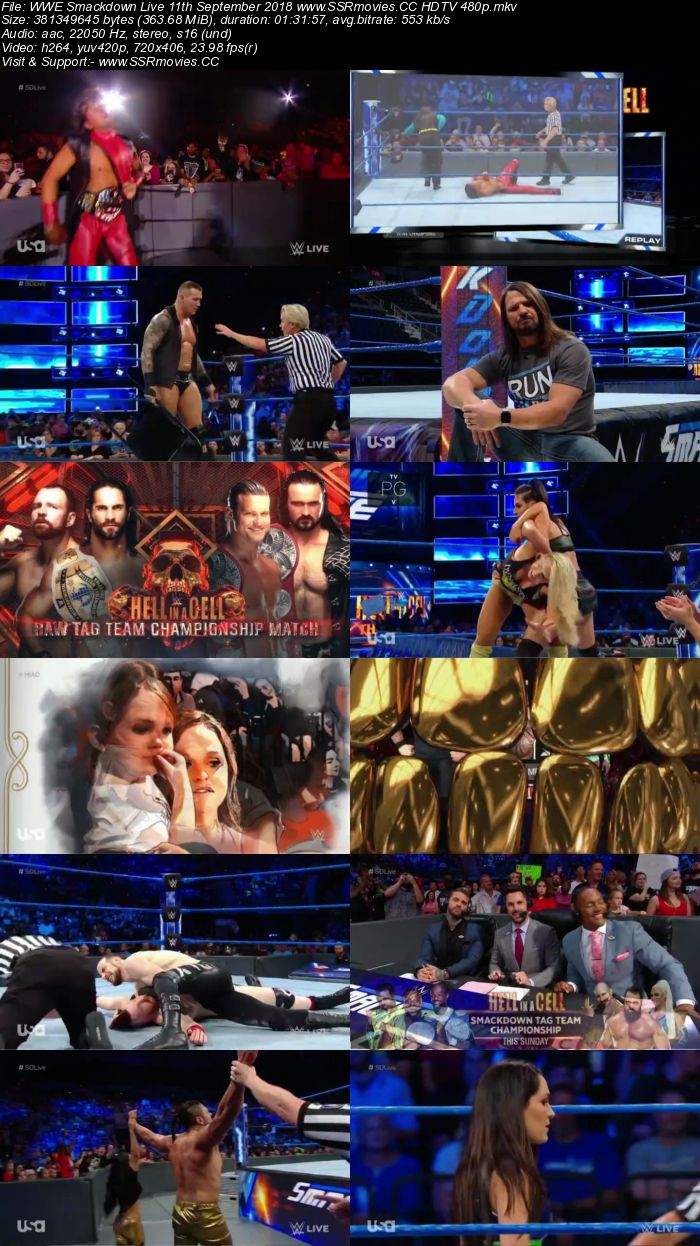 Wwe Smackdown Live 8 11 2016