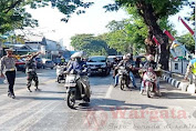 Kasat Lantas Polres Gowa Lakukan ini pada Momen Dirgahayu TNI ke-75