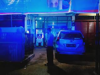 Polsek Maiwa Polres Enrekang Laksanakan Patroli Blue Light