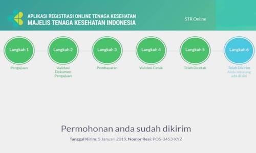 Cara Daftar STR dan Cara Membuat Surat Tanda Registrasi Via Online