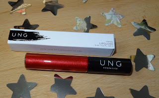 Review UNG Holographic Lipgloss