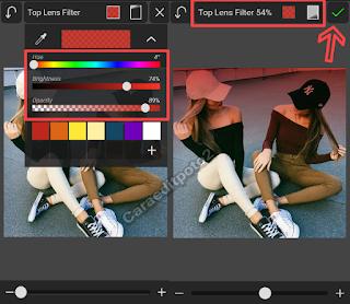 edit foto dual tone