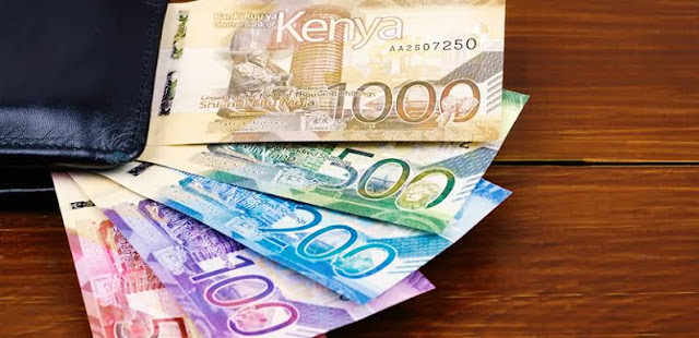 Kenyan Cash in Banknotes