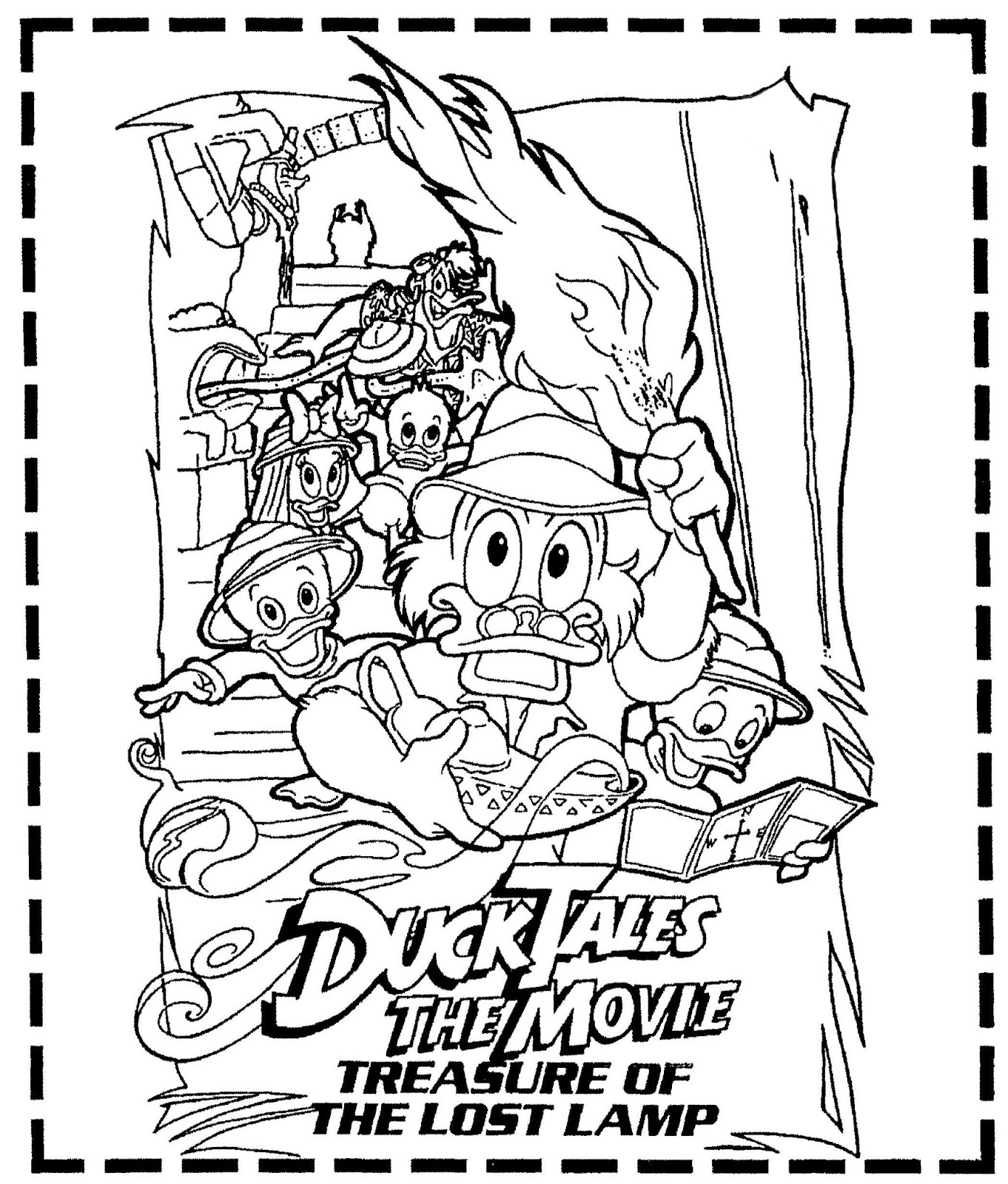 Mostly Paper Dolls Too!: DUCK TALES THE MOVIE, Treasure Of