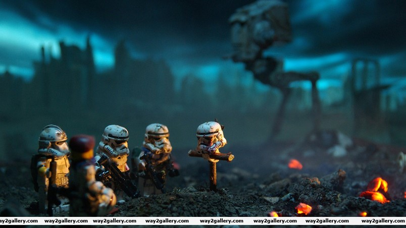 Star wars lego soldiers wallpaper