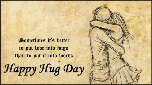hug day to my wife