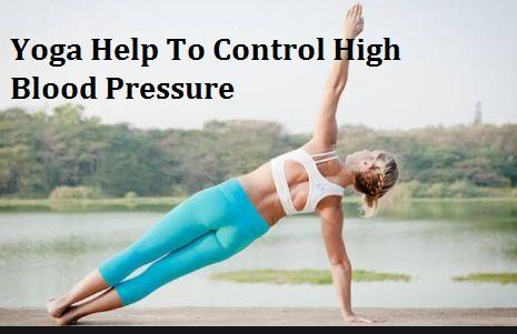 yoga help to control high blood pressure