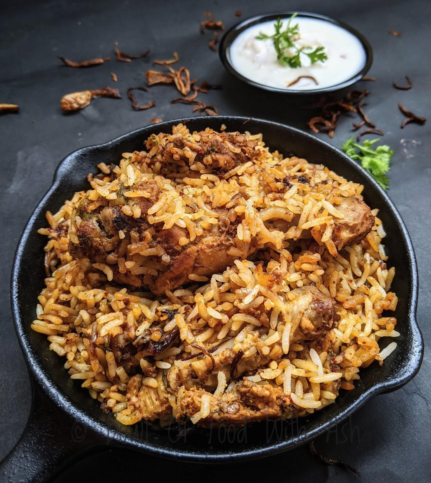 Chicken Biryani  | How To Make Hyderabadi Chicken Biryani