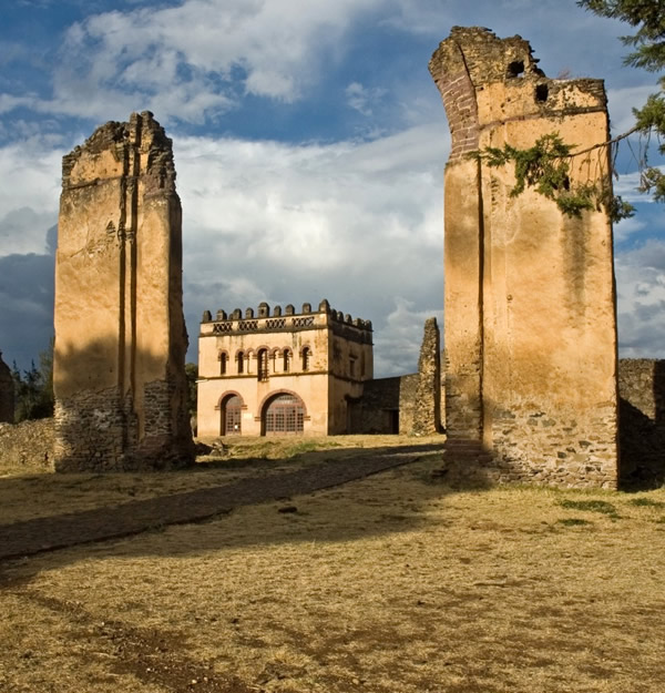 One of the ruin in Ethiopia
