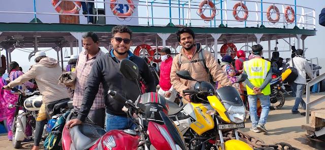 Ferry Crossing from Kakdwip to Ganga Sagar
