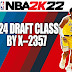 NBA 2K22 2024 Draft Class by X-2357