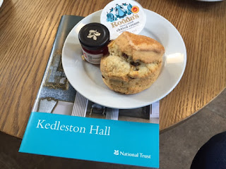 Kedleston Hall scone