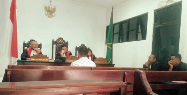 Hakim Perintahkan Proses Saksi Narkoba Akibat Rekayasa BAP
