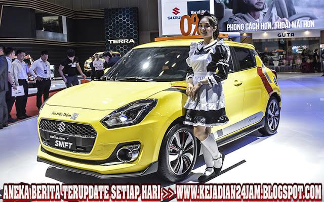 Wow Suzuki Swift Sport Tampil Menggoda Di VMS 2019