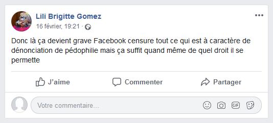 Comment Jean-Marc Donnadieu s'est encore fait remarquer chez des anti-pédophiles... dans Calomnie Lili%2BBrigitte%2BGomez%2B0%2B-%2Bwww.facebook.com