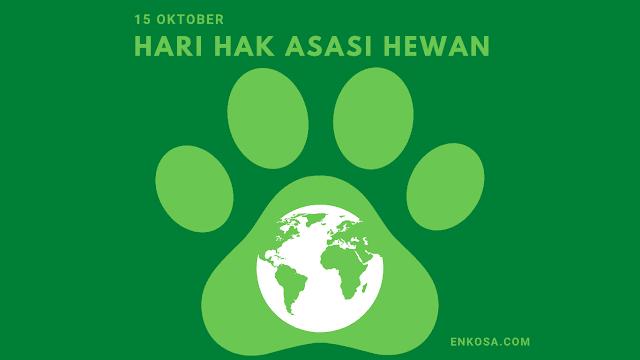 Sejarah Hari Hak Asasi Binatang 15 Oktober