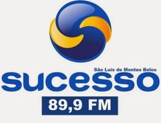 Rádio Sucesso FM 89,9 de São Luís de Montes Belos Goiás