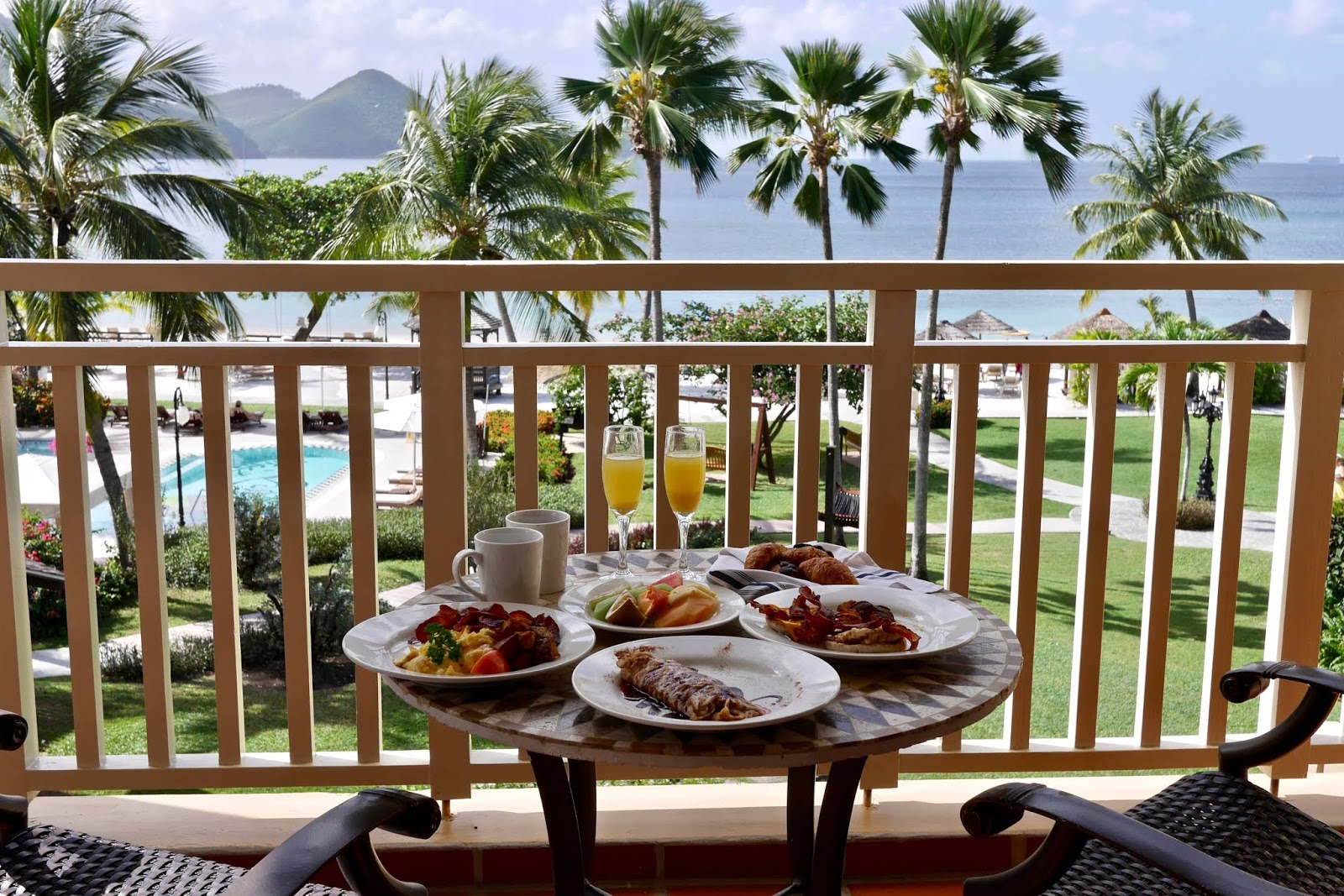 Room Service Food at Sandals Grande St Lucia, , Sandals Grande St Lucia Review