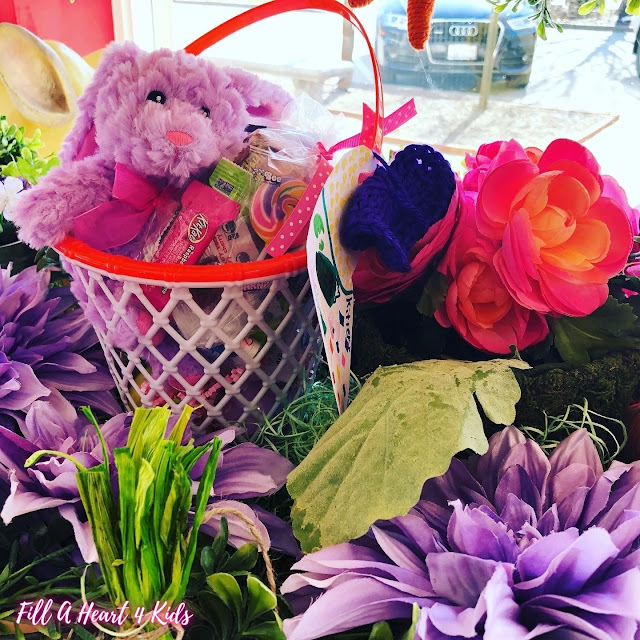 Jubilant overflowing Easter baskets will create a special memory!