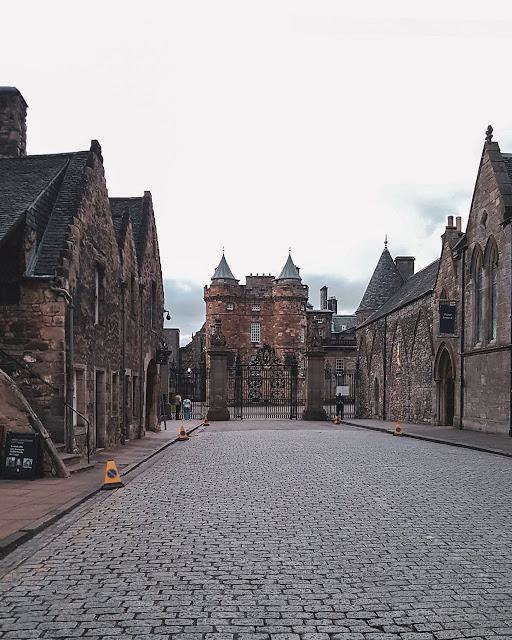 Palácio de Holyrood - Edimburgo - Escócia