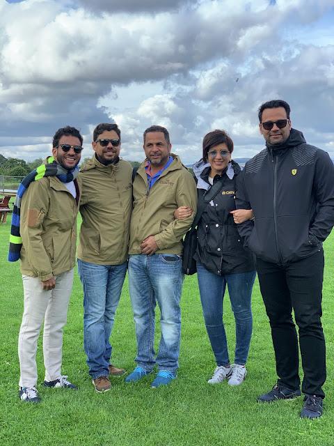 Oscar De Castro, Carlos Núñez, Lorenzo Rojas, Maireline Abreu y Víctor Matos