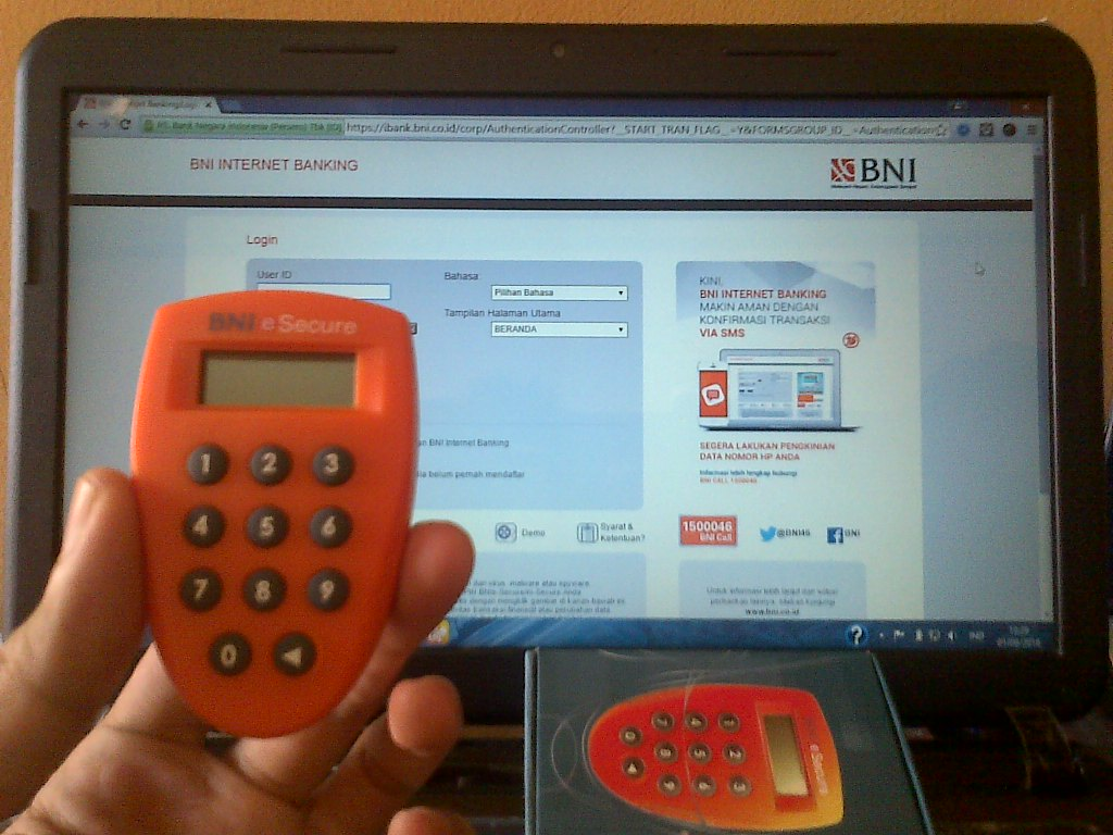 Cara Penggunaan BNI e-Secure