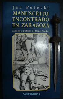 Portada del libro Manuscrito encontrado en Zaragoza, de Jan Potocki