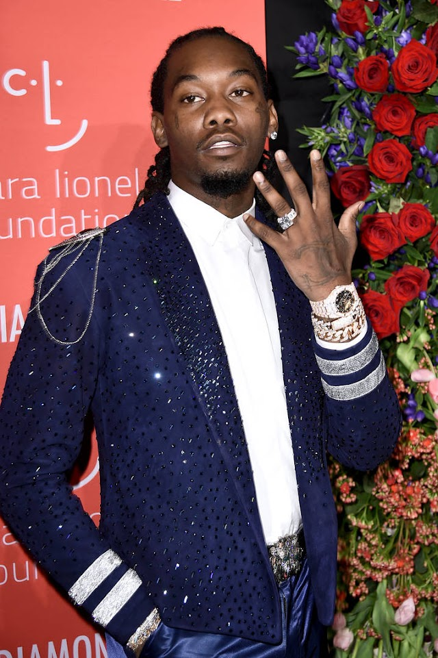 Offset Buys Himself A Luxury Whip To Celebrate Grammy Nomination
