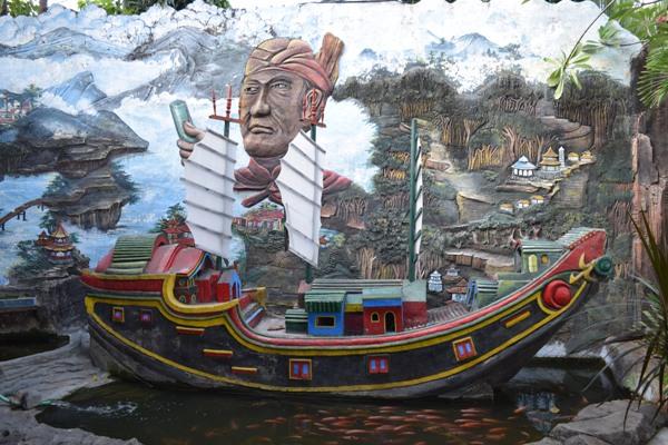 Muslin Tiongkok di Indonesia