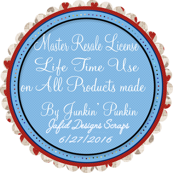Junkin' Punkin Master Resale License