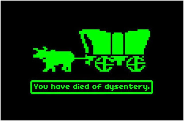 Taking the Oregon Trail wouldn't have been fun at the time