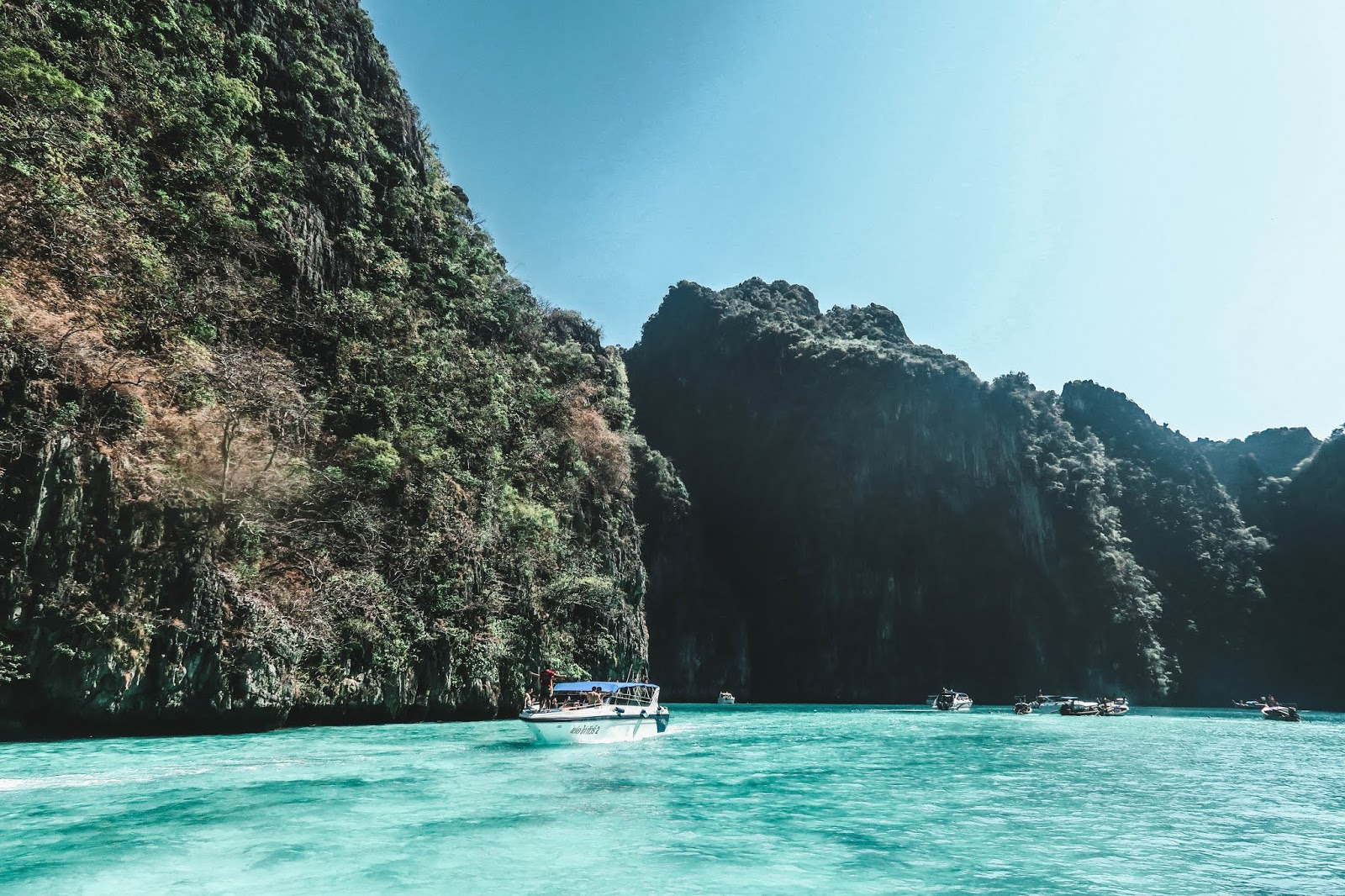 Boat Tours in Koh Phi Phi Thailand