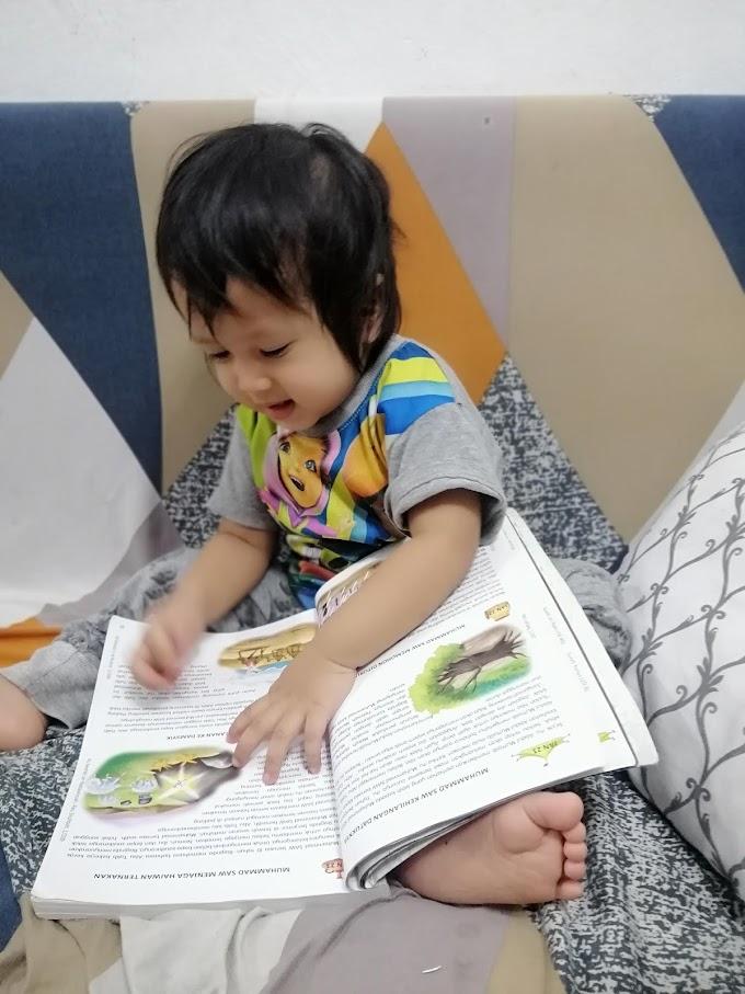 Tip ajar anak membaca dari rumah