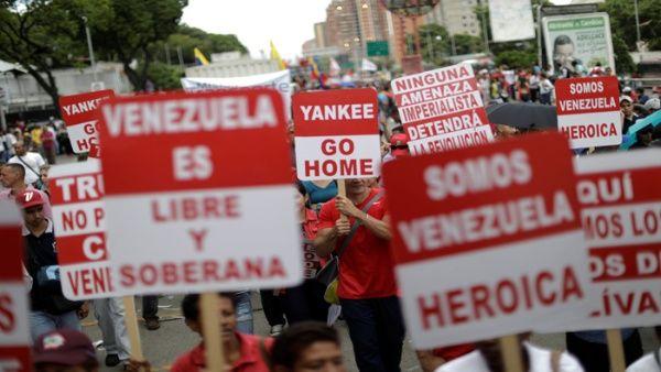 Gobierno venezolano repudia pronunciamiento de la oposición, que respalda sanciones al país