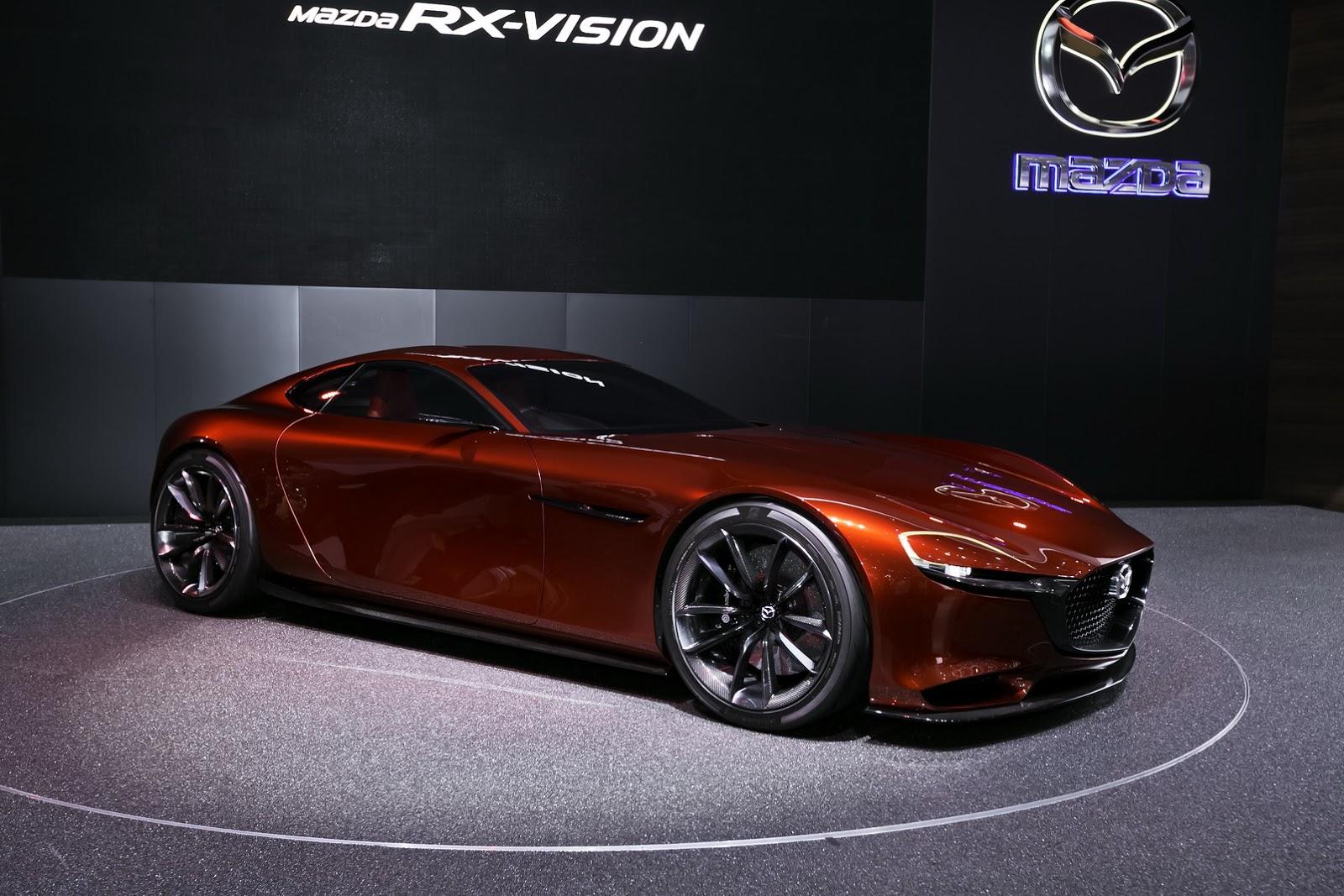 Mazda RX-Vision Concept có quá nhiều điểm bất hợp lý trong thiết kế?