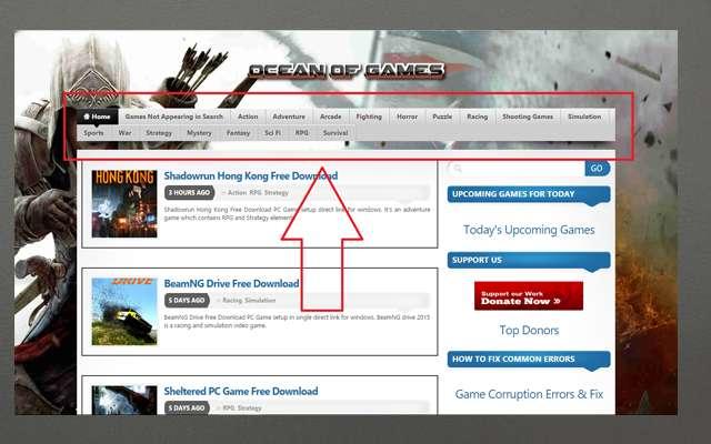أفضل موقع لتحميل جميع ألعاب الكومبيوتر الاصلية مجانا