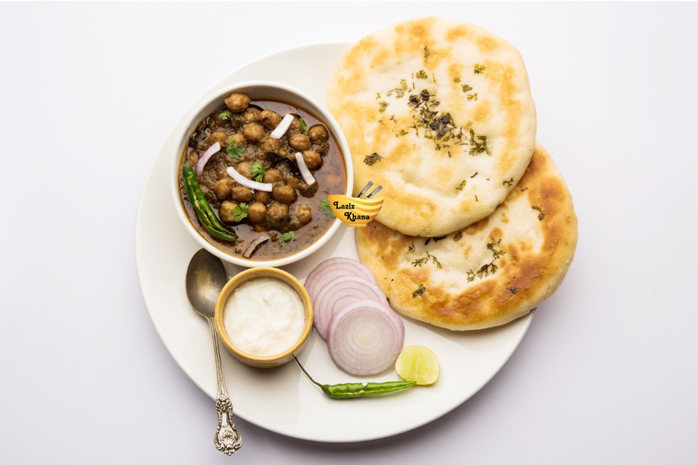 Chole Kulche Recipe in Hindi