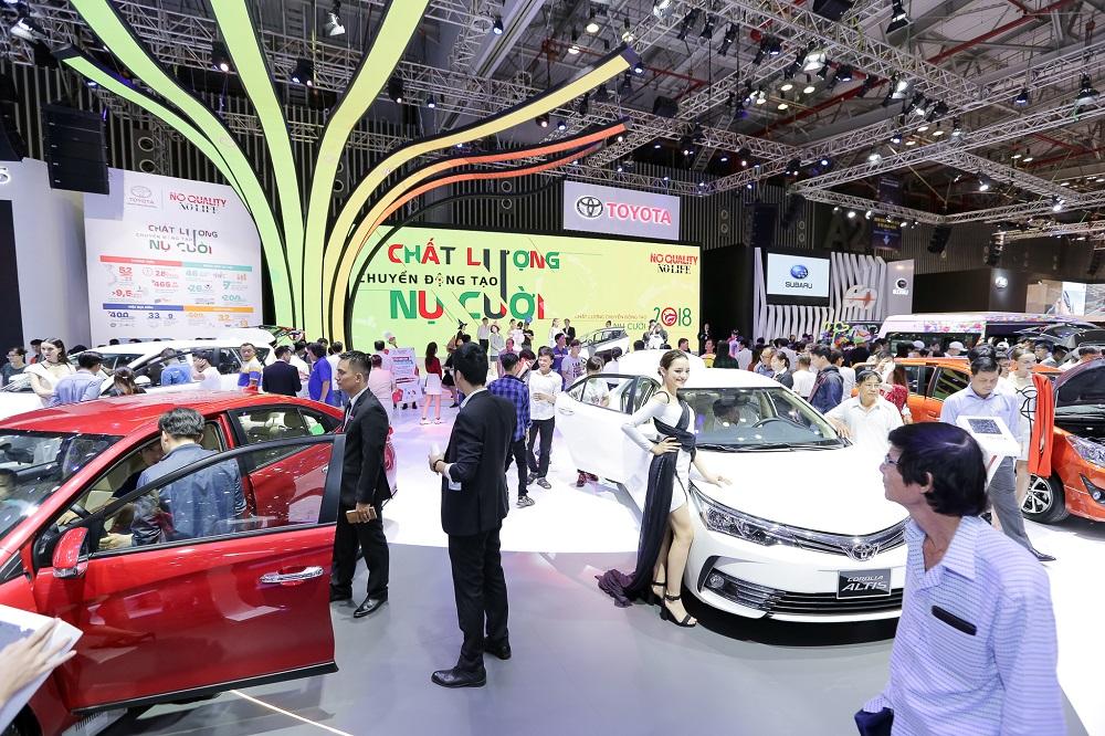 """Hết tháng """"cô hồn"""", doanh số bán ô tô tăng trở lại"""